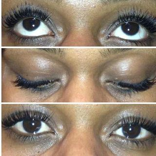 Triple pics eyelash extensions